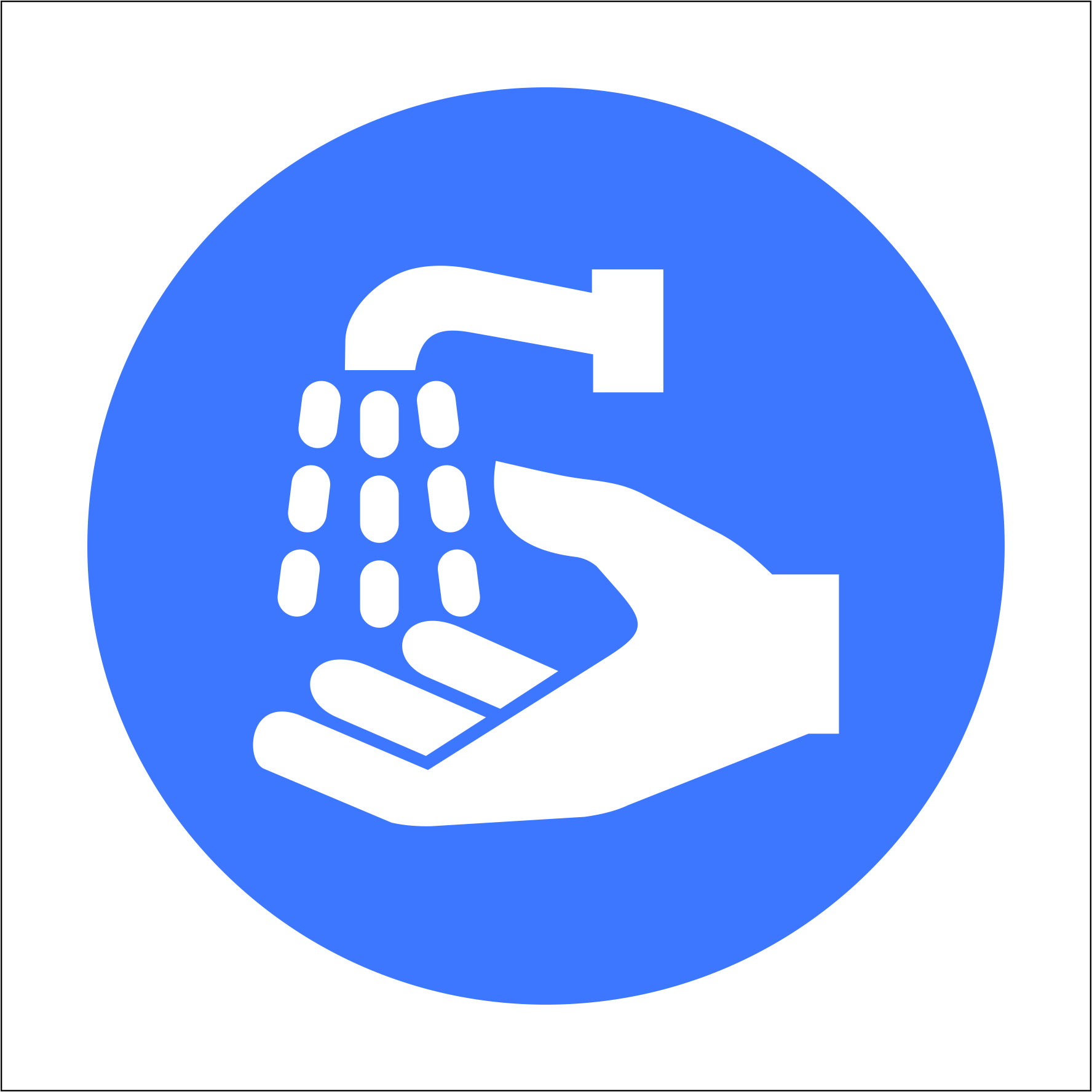 Wash Hands Safety Sign