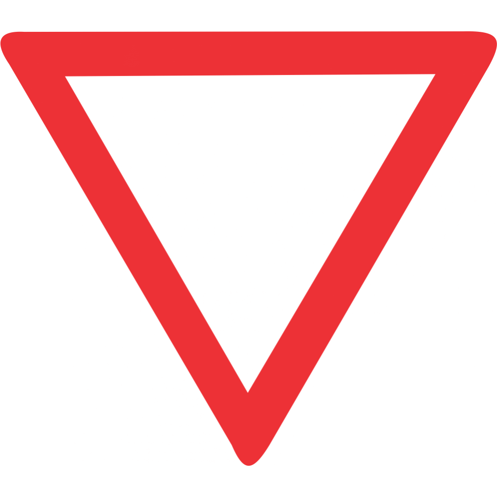 Yield Safety Sign