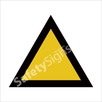 General Warning of Danger Safety Sign