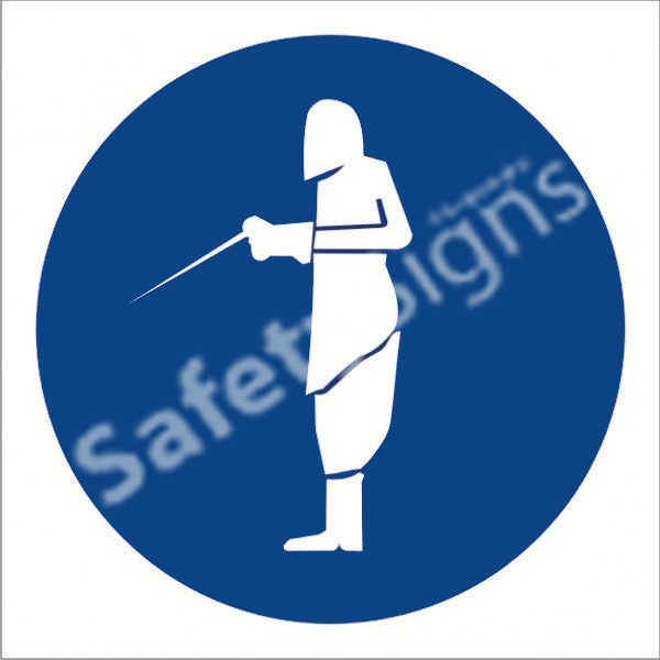 Full Welding Shall Be Worn Safety Sign