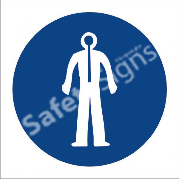 Thermal Suit Shall Be Worn Safety Sign