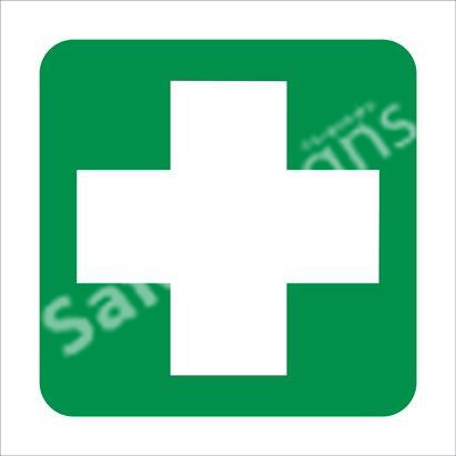 First Aid Equipment Safety Sign