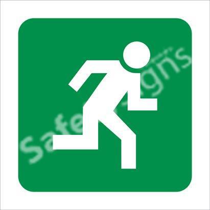 Direction to Escape Route 2