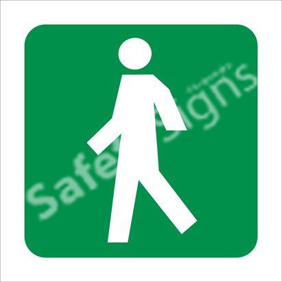 Traveling Way Safety Sign