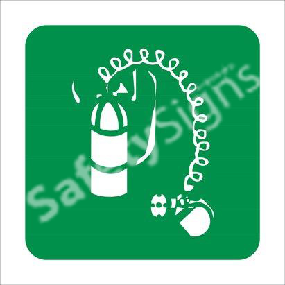 Breathing Apparatus Safety Sign