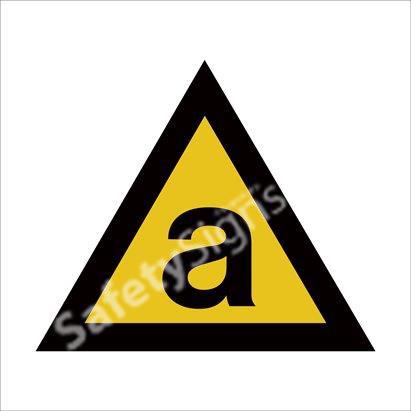 Warning of Asbestos Hazard  Safety Sign