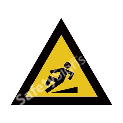 Warning of Slippery Walking Surface Safety Sign