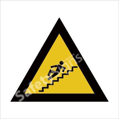 Warning of Slippery Steps Safety Sign