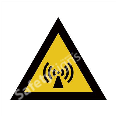 Beware of Non-Ionizing Radiation Safety Sign