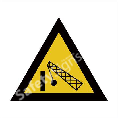 Beware of Demolition Area Safety Sign