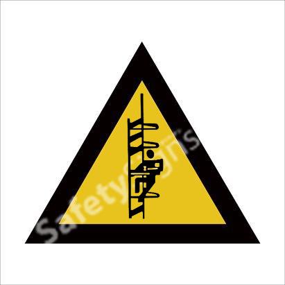 Warning of Catwalk Safety Sign
